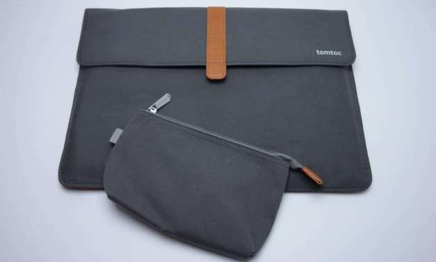Tomtoc 15-inch MacBook Pro with Touch Bar Envelope Sleeve REVIEW