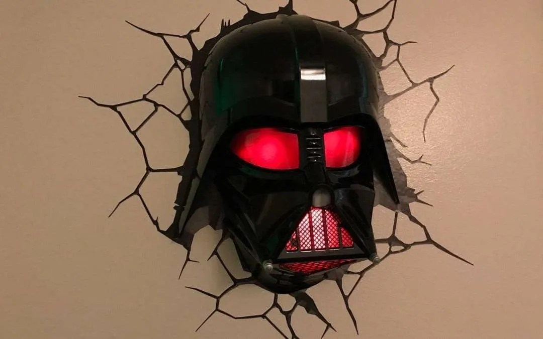 3d Light Fx Darth Vader Helmet 3d Deco Light Review Macsources