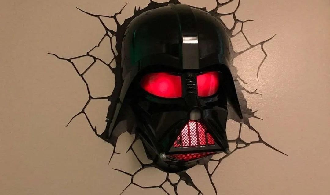 3D Light FX Darth Vader Helmet 3D Deco Light REVIEW
