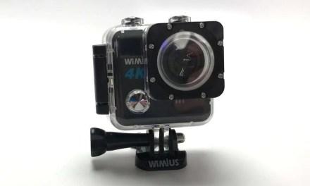 WiMius L1 WiFi 4k Action Cam REVIEW