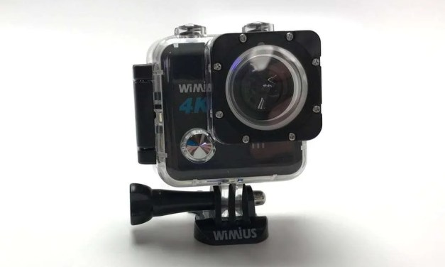 WiMius L1 WiFi 4k Action Cam REVIEW