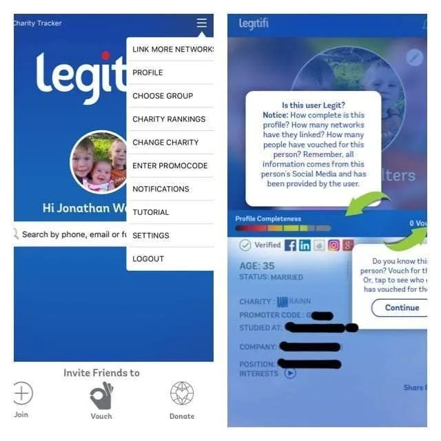 Legitifi Application