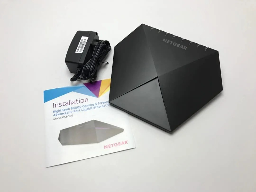 NETGEAR Nighthawk S8000 8-Port Gigabit Ethernet Switch REVIEW