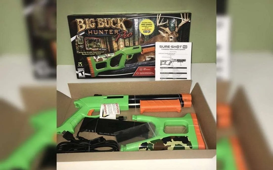 Sure Shot HD Video Game System REVIEW Bring the Arcade Experience of Big Buck Hunter into your home.