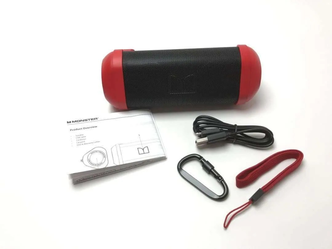 Monster Firecracker HD Bluetooth Speaker REVIEW