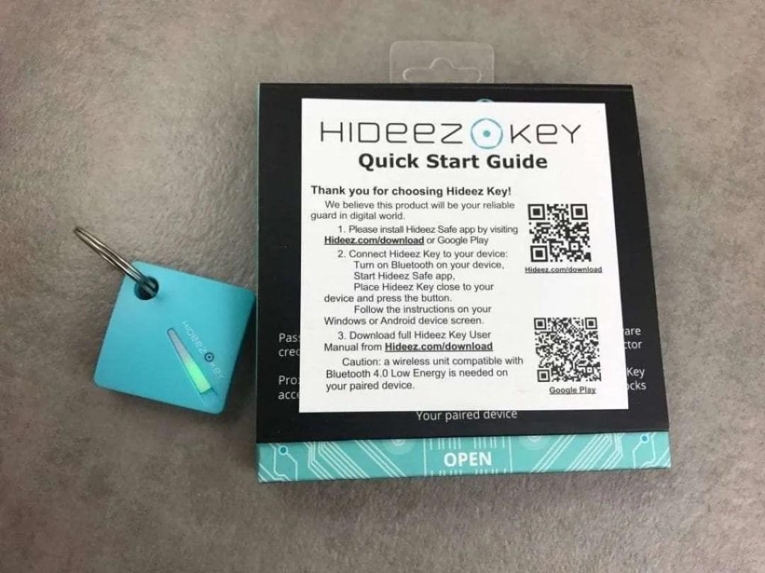 Hideez Key Instructions