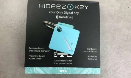 Hideez Key REVIEW Lots of Promise, limited utility