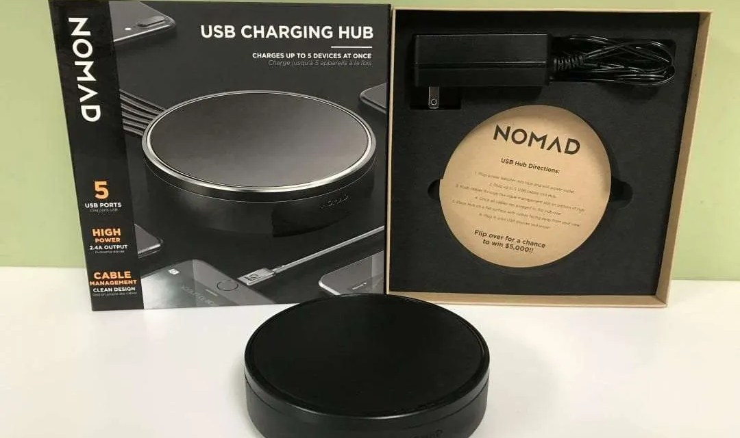 """Nomad USB Charging Hub REVIEW """"Clean Organized Power"""""""