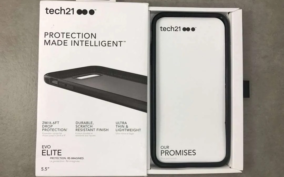 pretty nice 9fba7 24ae7 Tech21 Evo Elite Case REVIEW Protection Re-Imagined | Mac Sources