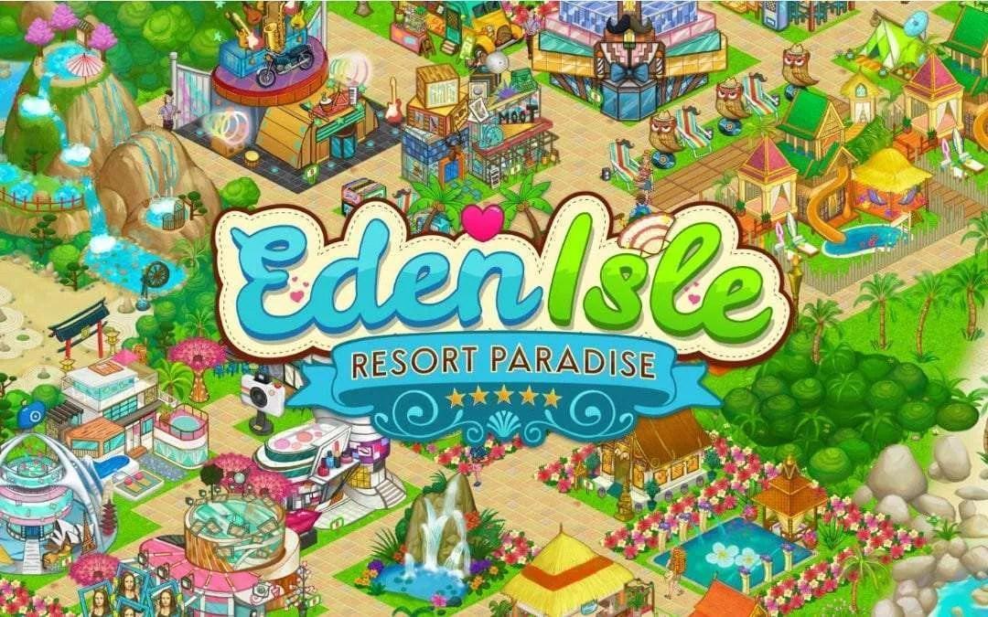 Eden Isle: Island Paradise iOS Game REVIEW