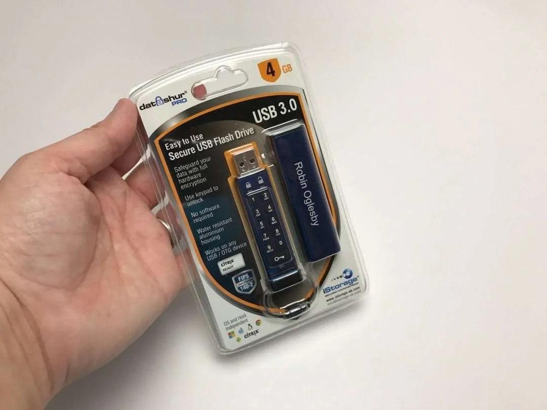 iStorage datashur Pro Encrypted Flash Drive REVIEW