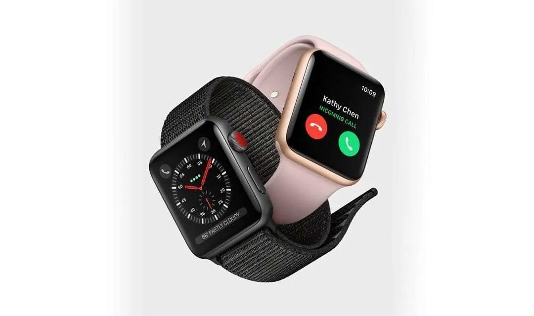Apple Announces Apple Watch Series 3 NEWS