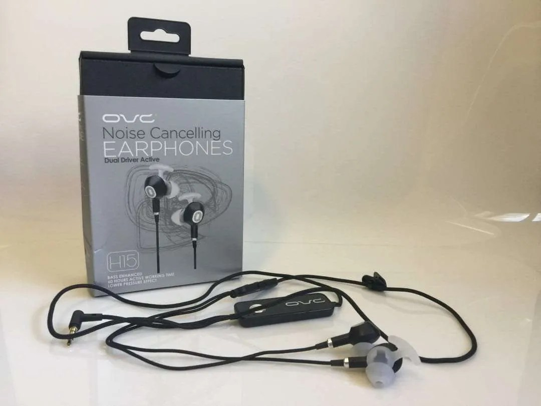 Ovc H15 Noise Cancelling Earphones Review Mac Sources Lights Wire And Usa On Pinterest Pin It