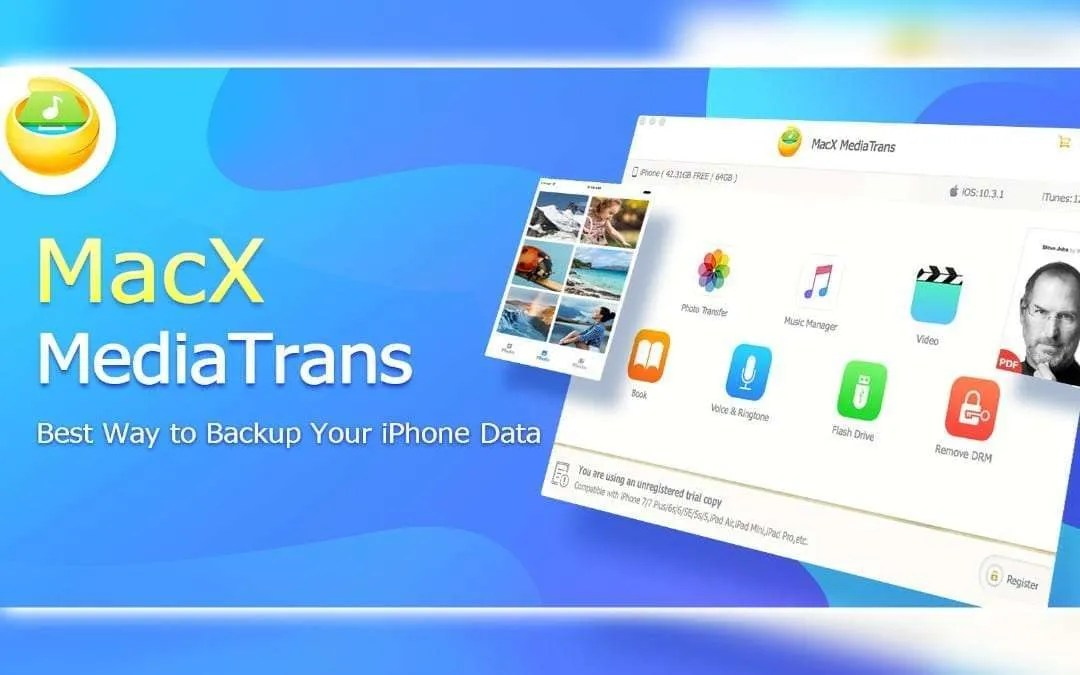 MacX MediaTrans: An Alternative to iTunes for Backup iPhone
