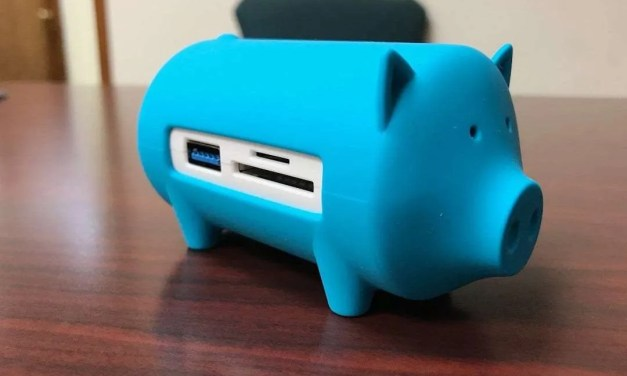 Orico Piggy Hub with Card Reader REVIEW