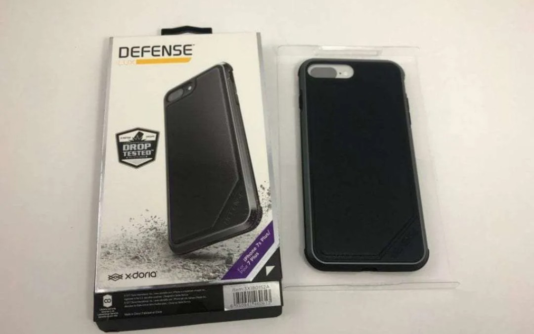 pretty nice 25781 ee22a X-doria Defense LUX iPhone 7/8 Plus REVIEW Lightweight shell for ...