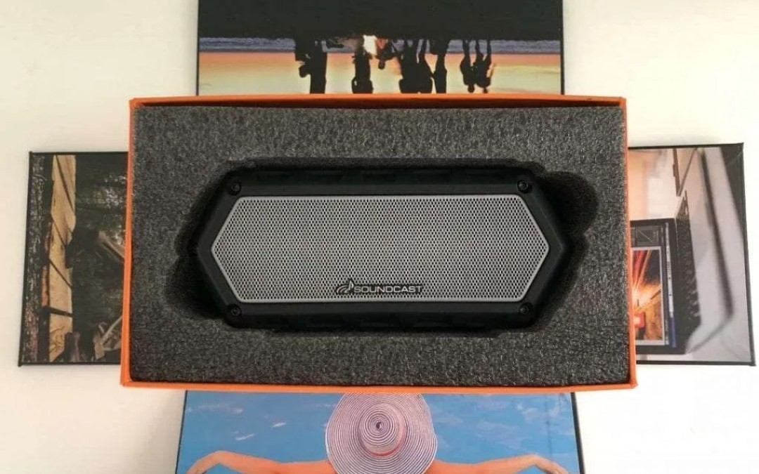 SOUNDCAST VG1 Bluetooth Speaker REVIEW Take Anywhere, Everywhere Premium Waterproof Speaker