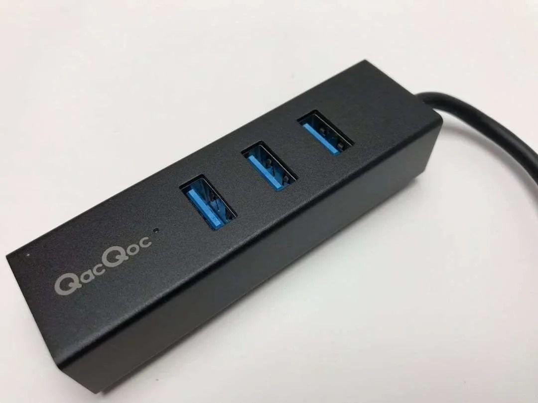 QacQoc USB 3.0 Hub with Ethernet REVIEW