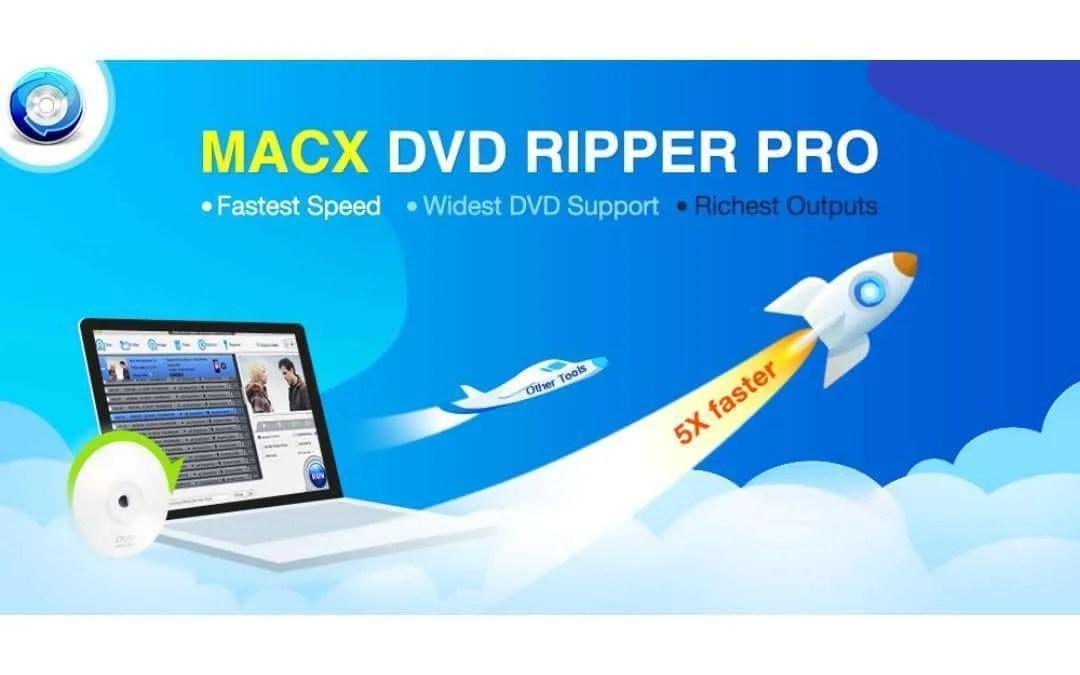 Alternative to Handbrake Mac: Rip DVD with MacX DVD Ripper Pro at Fast Speed