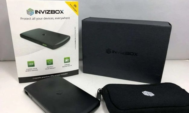 Invizbox REVIEW 5000 mAh battery and VPN device