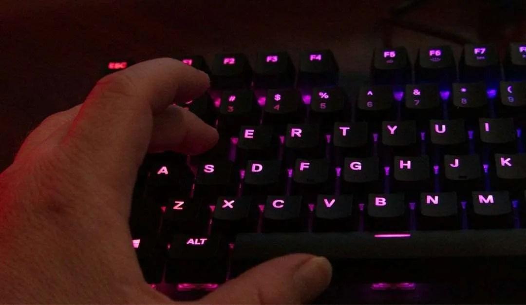 SteelSeries Apex M750 TKL Mechanical Keyboard REVIEW   Mac