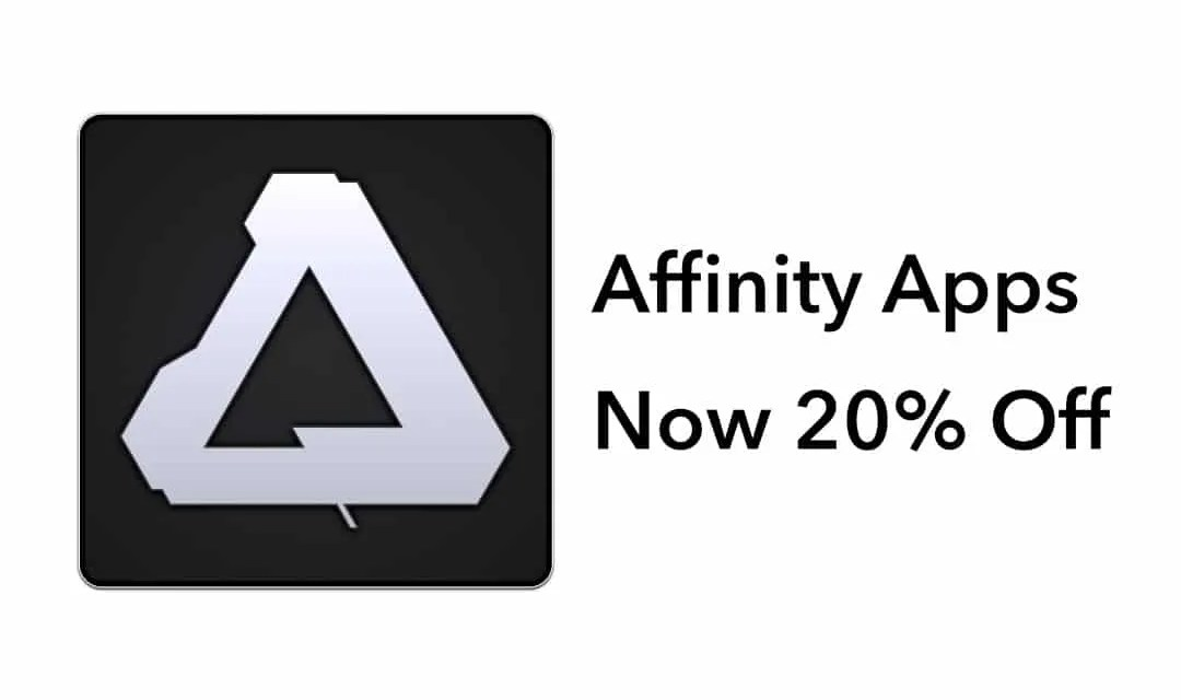 Celebrate with 20% off Affinity apps on Mac, Windows and iOS NEWS