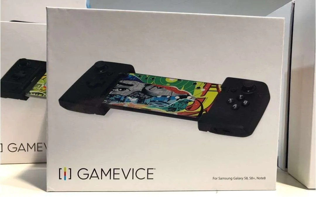 Gamevice CES 2018 Interview: Do not sacrifice gaming comfort on your smart device.