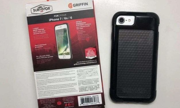 Griffin Survivor Fit Case REVIEW for iPhone 7/6s/6 (and 8): Fits your phone like a glove.