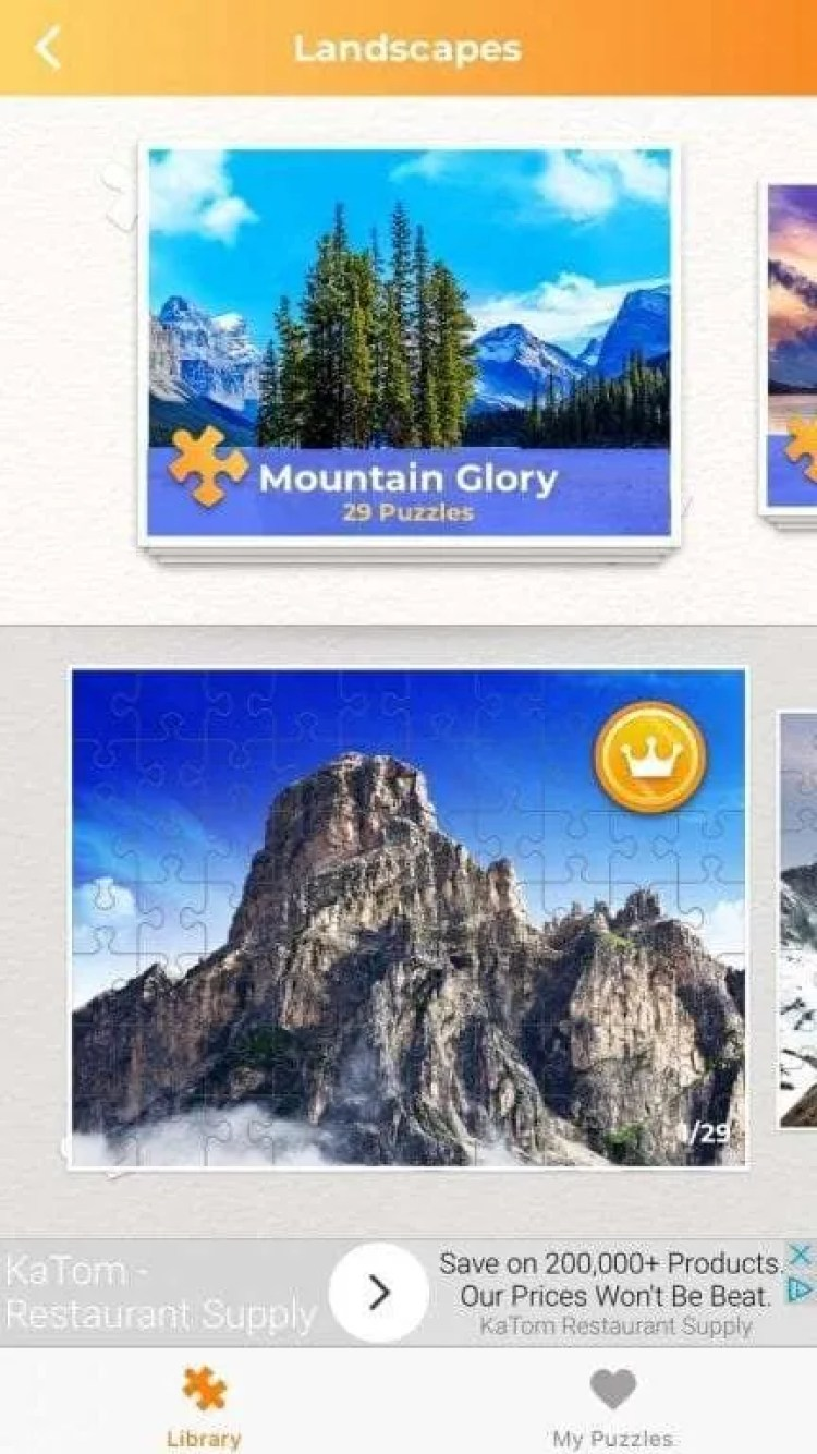 Jigsaw Puzzles for Me iOS Game REVIEW
