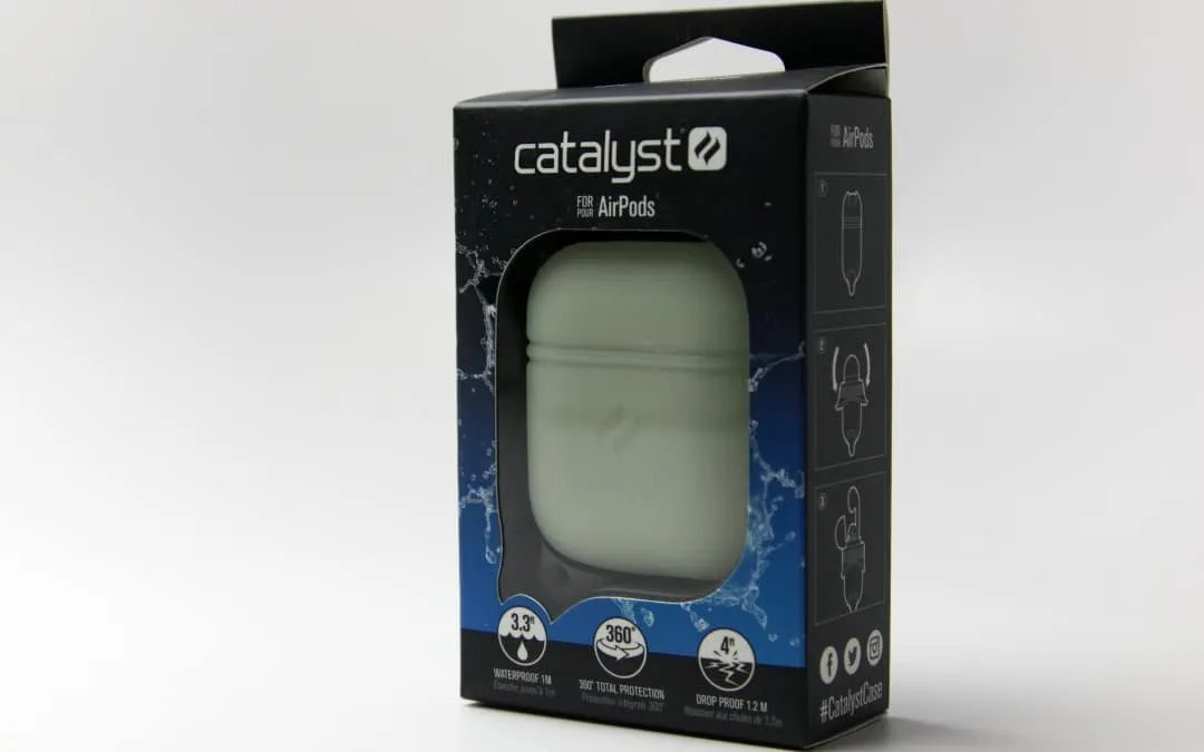new product df757 11855 Catalyst Case for AirPods REVIEW Glow in the Dark   Mac Sources