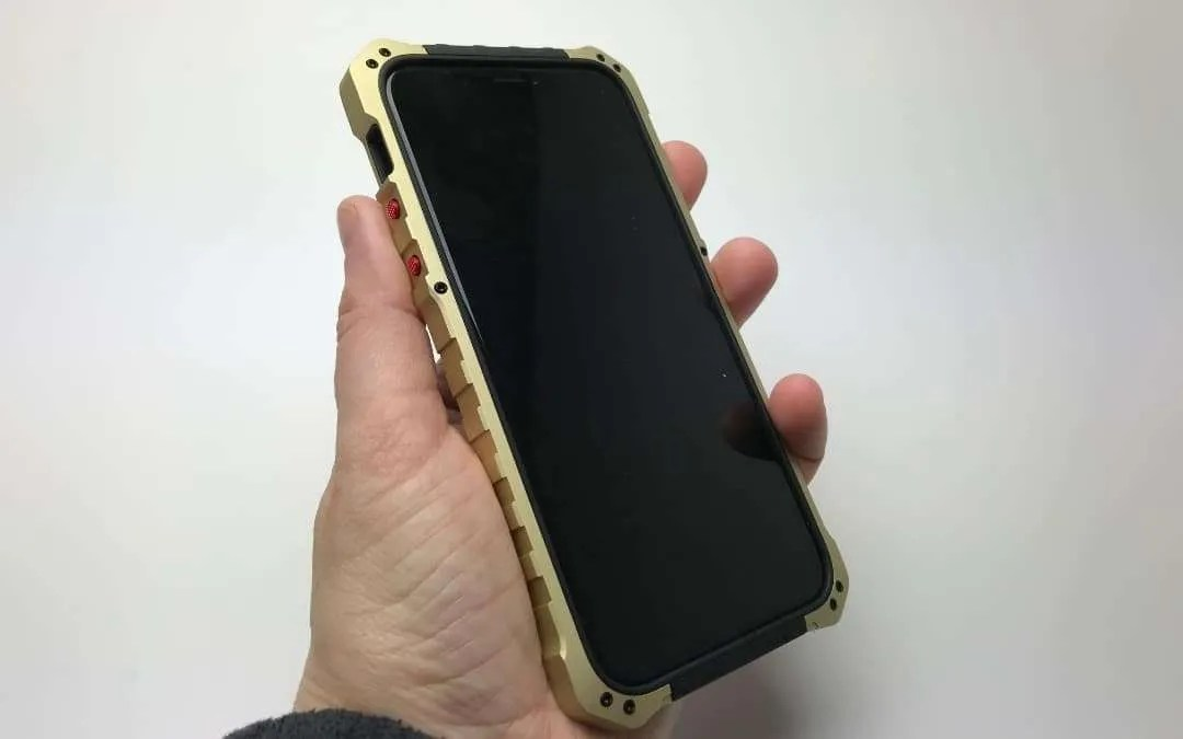 innovative design 357a5 ea396 Element Case Black OPS for iPhone X REVIEW | Mac Sources