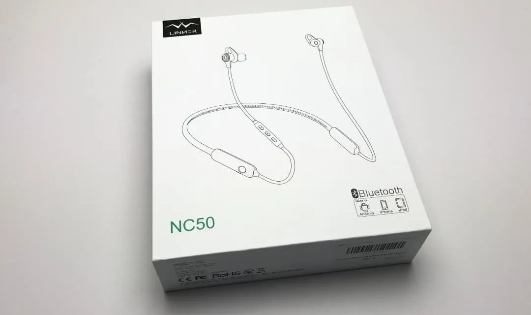 Linner NC50 Active Noise Cancelling Wireless Sports Earphones REVIEW