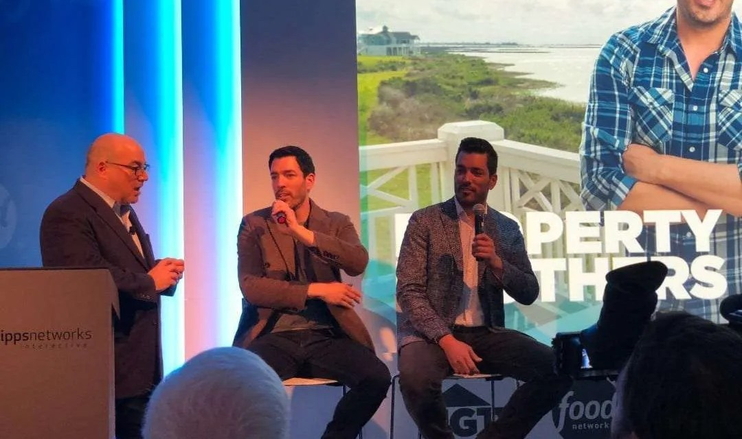 Shelly Palmer Breakfast at CES with the Property Brothers