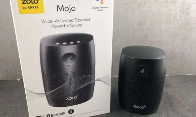 Zolo Mojo Voice Activated Speaker REVIEW More Mojo than the Google Home Mini