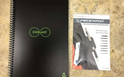 Rocketbook Everlast REVIEW The Last Notebook You Will Ever Need