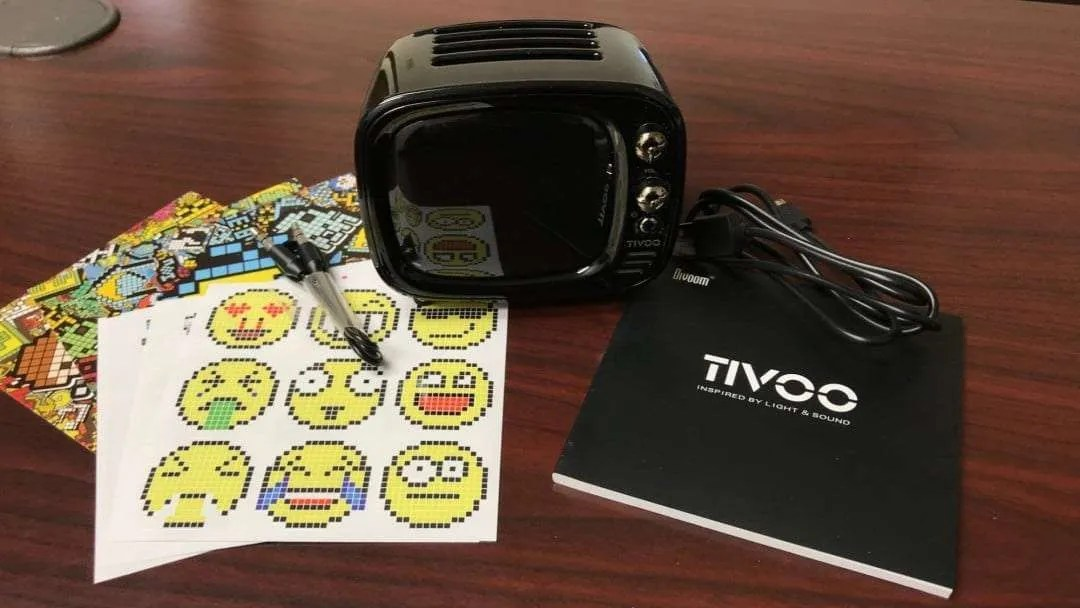 Divoom Tivoo Smart Pixel Art Bluetooth Speaker REVIEW