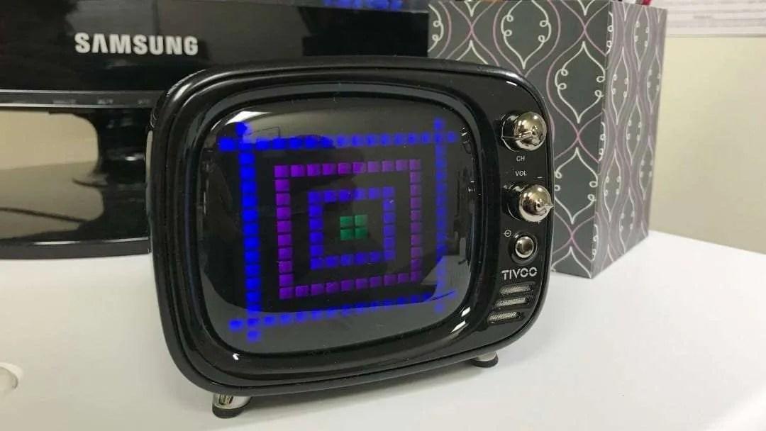 Divoom Tivoo Smart Pixel Art Bluetooth Speaker REVIEW
