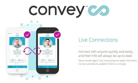 Convey Launches Platform to Replace Static Contacts with Live Dynamic Connections NEWS