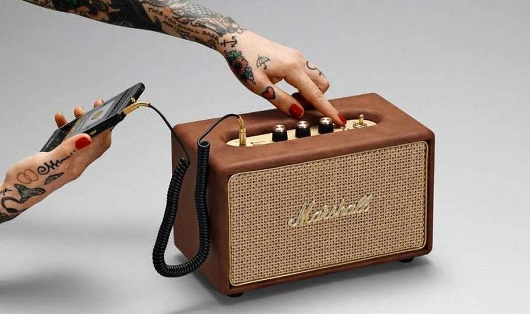 Marshall Headphones' Acton Tawny Available Now for a Limited Time NEWS