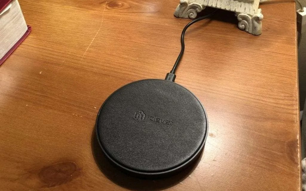 iClever BoostCube Fast Wireless Charger REVIEW Set It Charge It Forget It