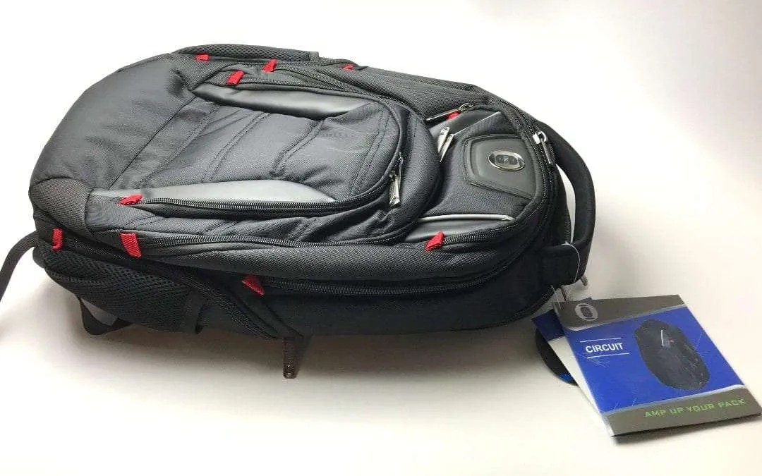 Swiss Digital Circuit Backpack