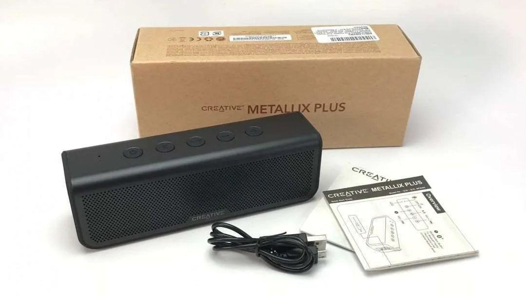 Creative Metallix Plus Bluetooth Speaker REVIEW