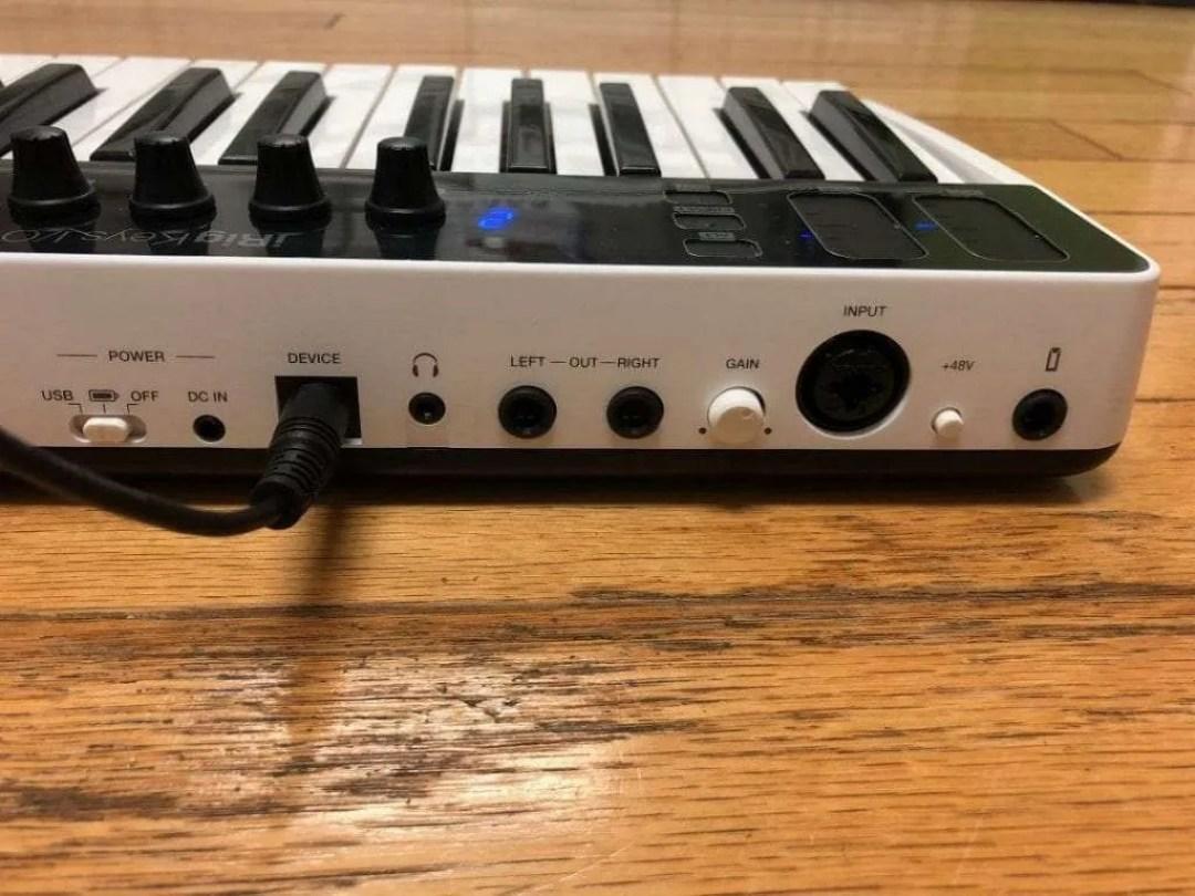 iRig Keys I/o input