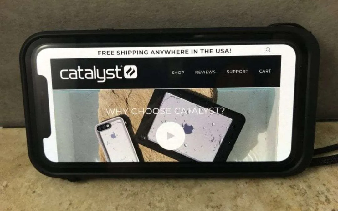 Catalyst Waterproof iPhone X Case REVIEW Catalyze an Active