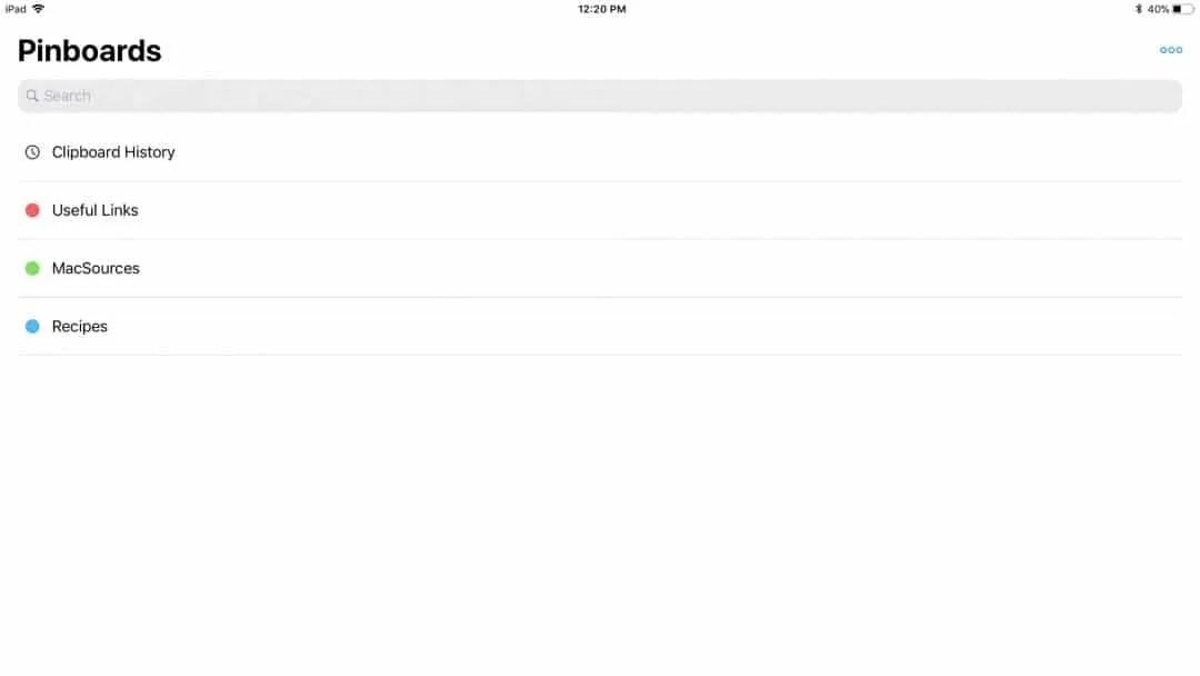 Paste for iPad REVIEW