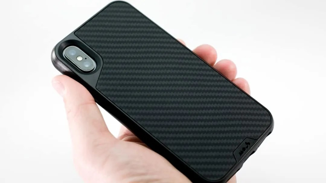 MOUS Real Aramid Carbon Fibre Case for iPhone X REVIEW