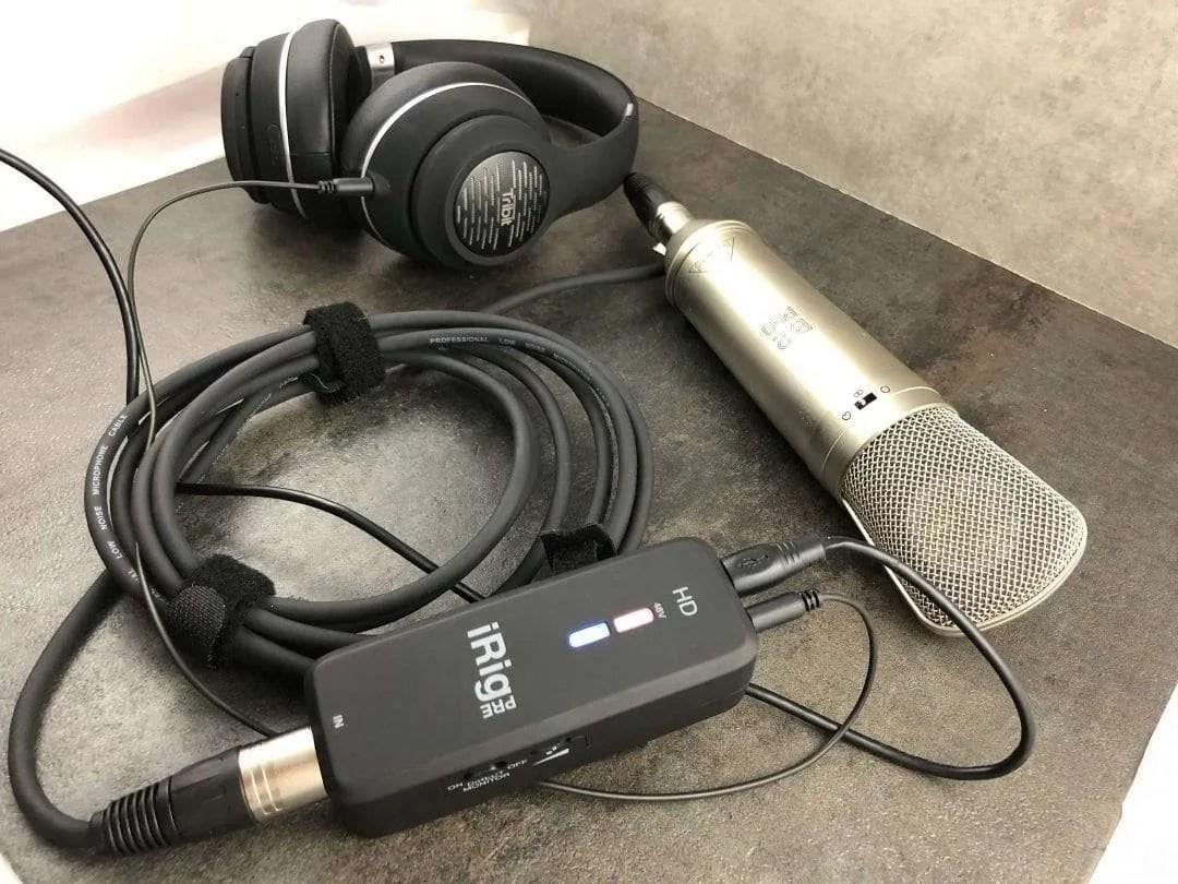 iRig PreHD Digital Microphone interface