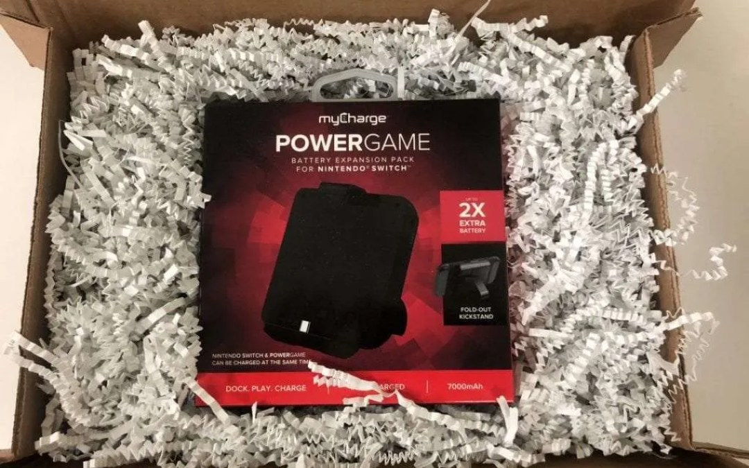 MyCharge PowerGame REVIEW Keep your Head in the Game.