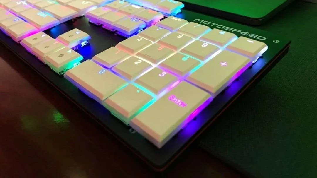 Motospeed CK94 NKRO Slim Wired Gaming Mechanical Keyboard REVIEW