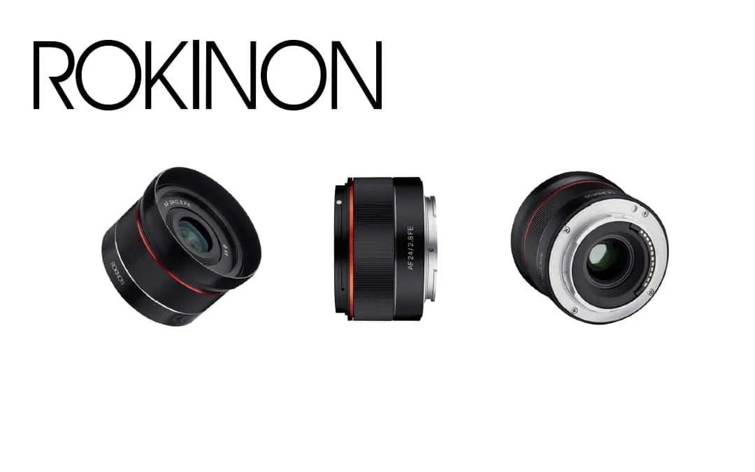 Rokinon Announces New AF 24mm f2.8 Full Frame Lens for Sony E NEWS ...